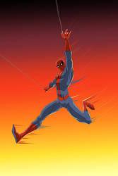Spiderman by LazaroRuiz