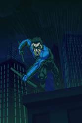 Nightwing-v2 by LazaroRuiz