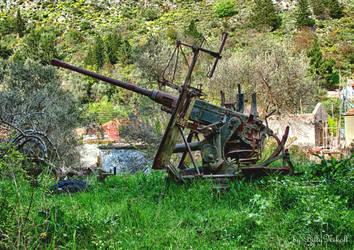 1 Anti aircraft gun 40mm 1941 by BillyNikoll