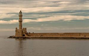 Autumn in the old Venetian port of Chania III by BillyNikoll