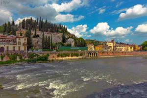 Adige River VIII by BillyNikoll