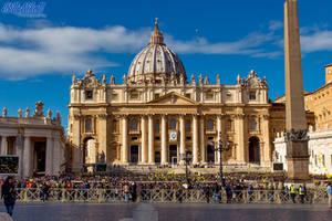 St. Peter's Basilica in the Vatican City II by BillyNikoll