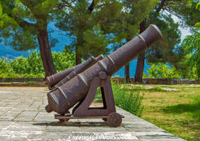 Cannons at the Castle of Ioannina I by BillyNikoll