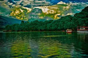 Lake Pamvotida II HDR by BillyNikoll