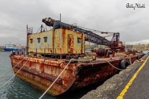 Floating Crane III by BillyNikoll