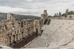 Odeon of Herodes Atticus by BillyNikoll