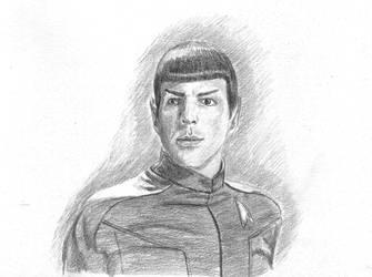 Commander Spock by IzhenVeres