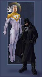 Apollo and Midnighter by JillJohansen