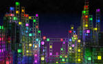 Cube Town 1680x1050 by jleoc