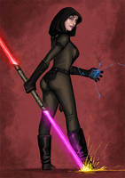 Sith Chick by thevampiredio