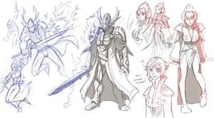 master warlock by thevampiredio