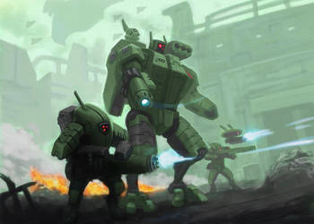 TAU force by thevampiredio