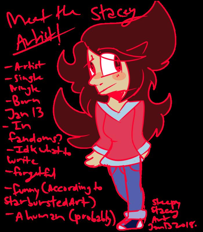 Meet the Artist - Stacey (SleepyStaceyArt) by SleepyStaceyArt