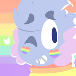 Gay boy icon by SleepyStaceyArt