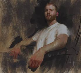 Self-Portrait Nov. 2014 by HoustonSharp