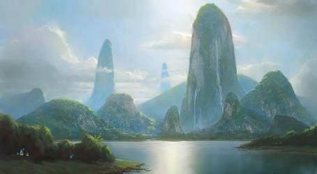Island by HoustonSharp
