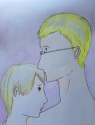 H-herr Sverige you're making me blush again. by Jotunheimrpluski