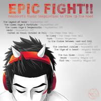 Epic Fight Soundtracks by MondoArt