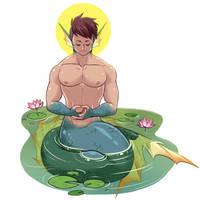 MerMay 4 - Meditation by MondoArt
