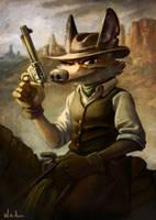 Coyote by kinkajoomotion