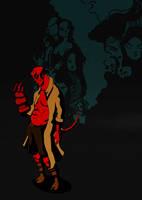 Hellboy by Psycadela