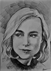 Daily sketch (Ellen Page) by NEMYV8