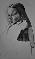Lyanna Mormont sketch by NEMYV8