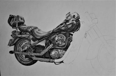 Kawasaki chopper (work in progress) by NEMYV8