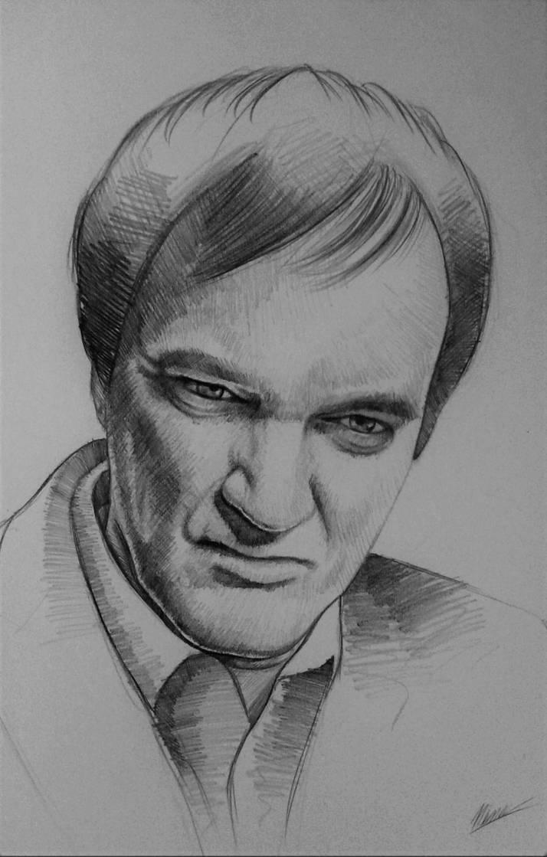 Quentin Tarantino by NEMYV8