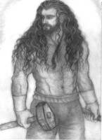 Thorin blacksmith by Marin1233
