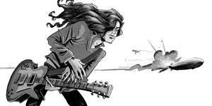 Jimmy Page by sumeyyekesgin