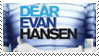 Dear Evan Hansen Stamp by Vincebae