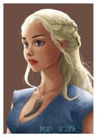 Daenerys Targaryen by Mariart89