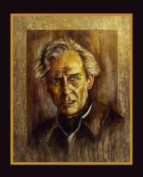 Peter Cushing by Gary-Mark-Lee