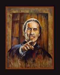 Christoper Lee, the Count by Gary-Mark-Lee