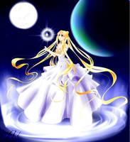 Sailor Moon - Princesse Serenity by NovaJy