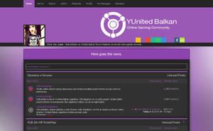 Purple Forum Theme by LazoBaa
