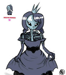 Skeleton Princess by NeinVolt