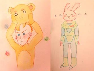 .animal costumes by PakuPirahna