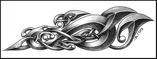 celtic dragon 4 by roblfc1892