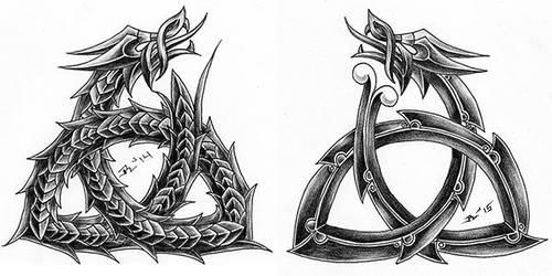 triskelion dragon 3 by roblfc1892