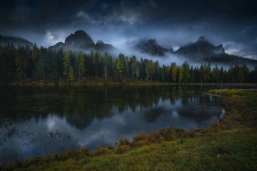 Lago d'Antorno by roblfc1892