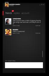 Twitter client, dark version. by BassemS
