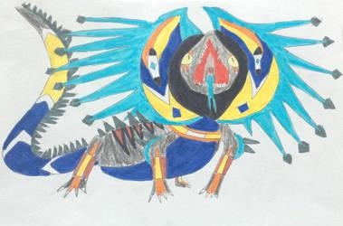 Vayamon 3: Voltosaurus by Sia-Mon