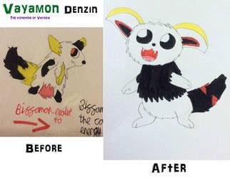 Vayamon development- Denzin  by Sia-the-Mawile