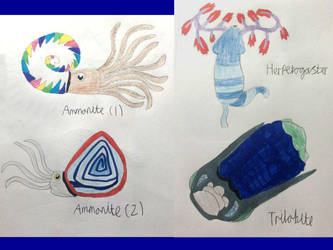 Non Vayamon life- More sea creatures by Sia-the-Mawile