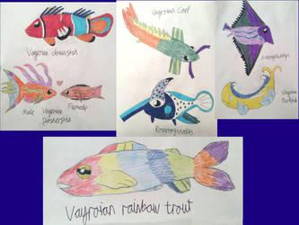 Non- Vayamon life: Vayroian fish by Sia-the-Mawile