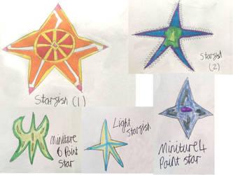 Non- Vayamon life: Starfish by Sia-the-Mawile