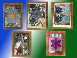 Handmade Christmas Cards 2 by Sia-the-Mawile