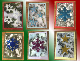 Handmade Christmas Cards by Sia-the-Mawile